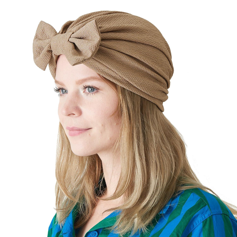 CHARM Casualbox | Bow Fashion Turban Hat Twist Ribbon Kawaii Boho Headwrap Chemo 4589777968622