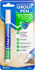 Grout Pen White Tile Paint Marker: Waterproof Grout Colorant and Sealer