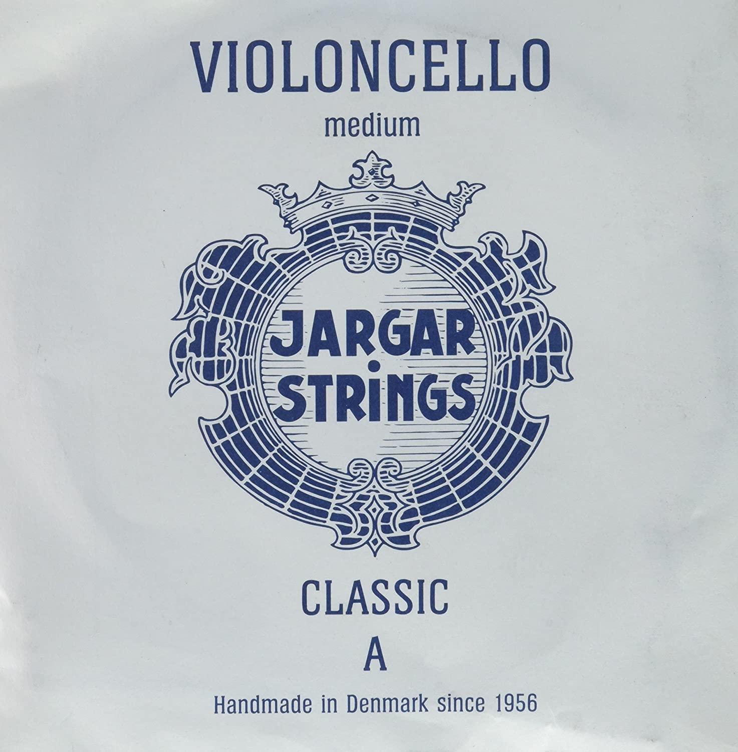 Jargar Jargar A Cello Medium Coated Steel Strings, Medium