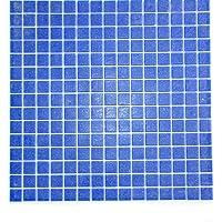 Vetro Mosaico C044 Mosaico De Vidrio, Azul Oscuro
