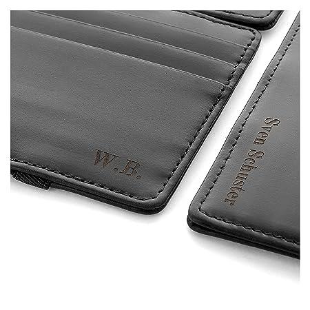 90676dc6d2a70 Jaimie Jacobs Magic Wallet Flap Boy - das Original - mit Gravur (Initialen  oder Name) Magischer Geldbeutel magisches Portmonaie Brieftasche mit ...