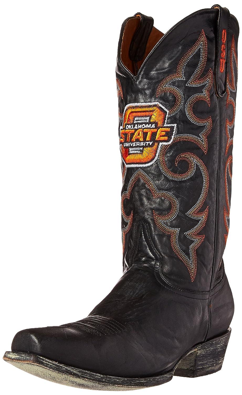 NCAA NCAA NCAA Oklahoma State Cowboys Men's Board Room Style Stiefel, schwarz 019513