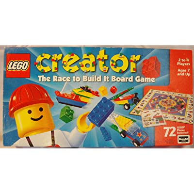 LEGO Creator: The Race to Build It Board Game: Toys & Games