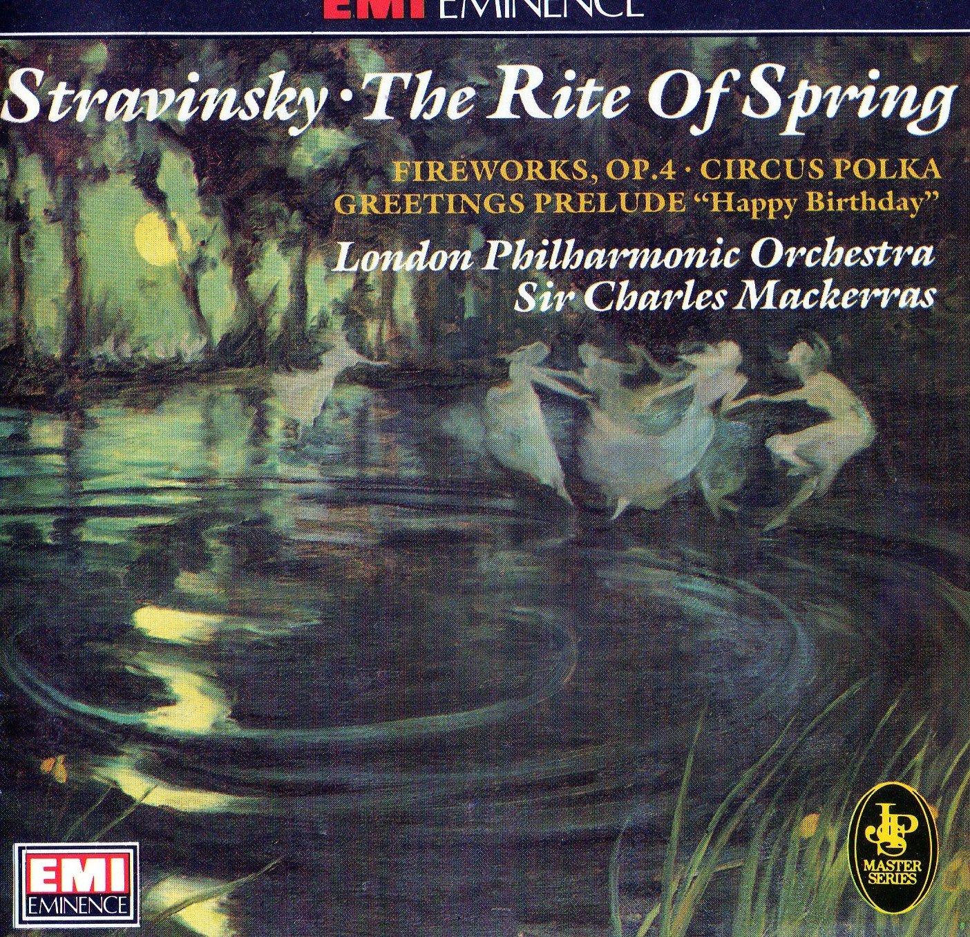 Stravinsky Charles Mackerras London Philharmonic Rite Of Spring