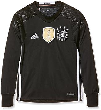 adidas DFB H GK JSY Y Camiseta 1ª Equipación-Línea Selección Alemana de Fútbol, niños, Negro/Blanco, 176: Amazon.es: Deportes y aire libre