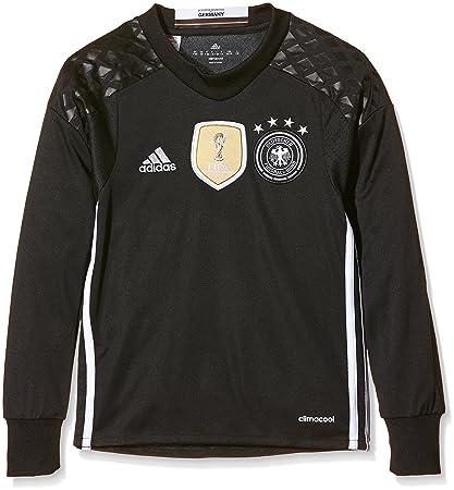 adidas DFB H GK JSY Y Camiseta 1ª Equipación-Línea Selección Alemana de Fútbol,