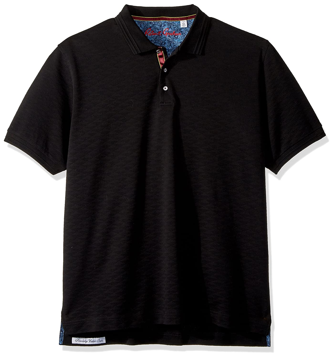 5498c8a0 Robert Graham Mens Edwin Short Sleeve Polo Polo Shirt: Amazon.ca: Clothing  & Accessories