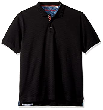ec8ffa5e Amazon.com: Robert Graham Men's Edwin Short Sleeve Polo: Clothing