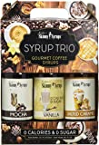 Skinny Syrups - Classic Syrup Trio Contains 3 Bottles Vanilla, Mocha , Salted Caramel