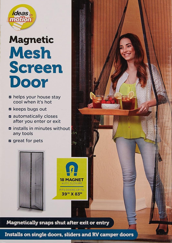 Ideas In Motion Msd 12 2715 Magnetic Screen Door Amazon