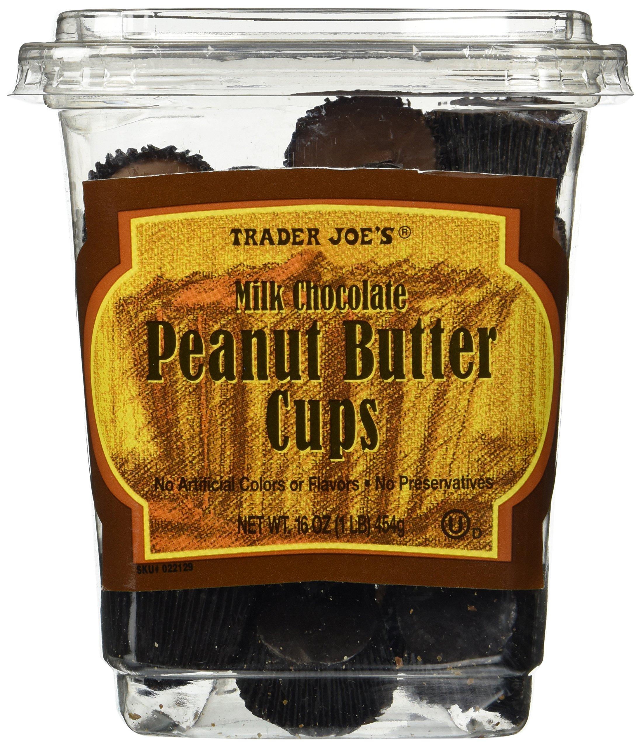Trader Joe's Milk Chocolate Peanut Butter Cups 16 OZ(1 LB) by Trader Joe's