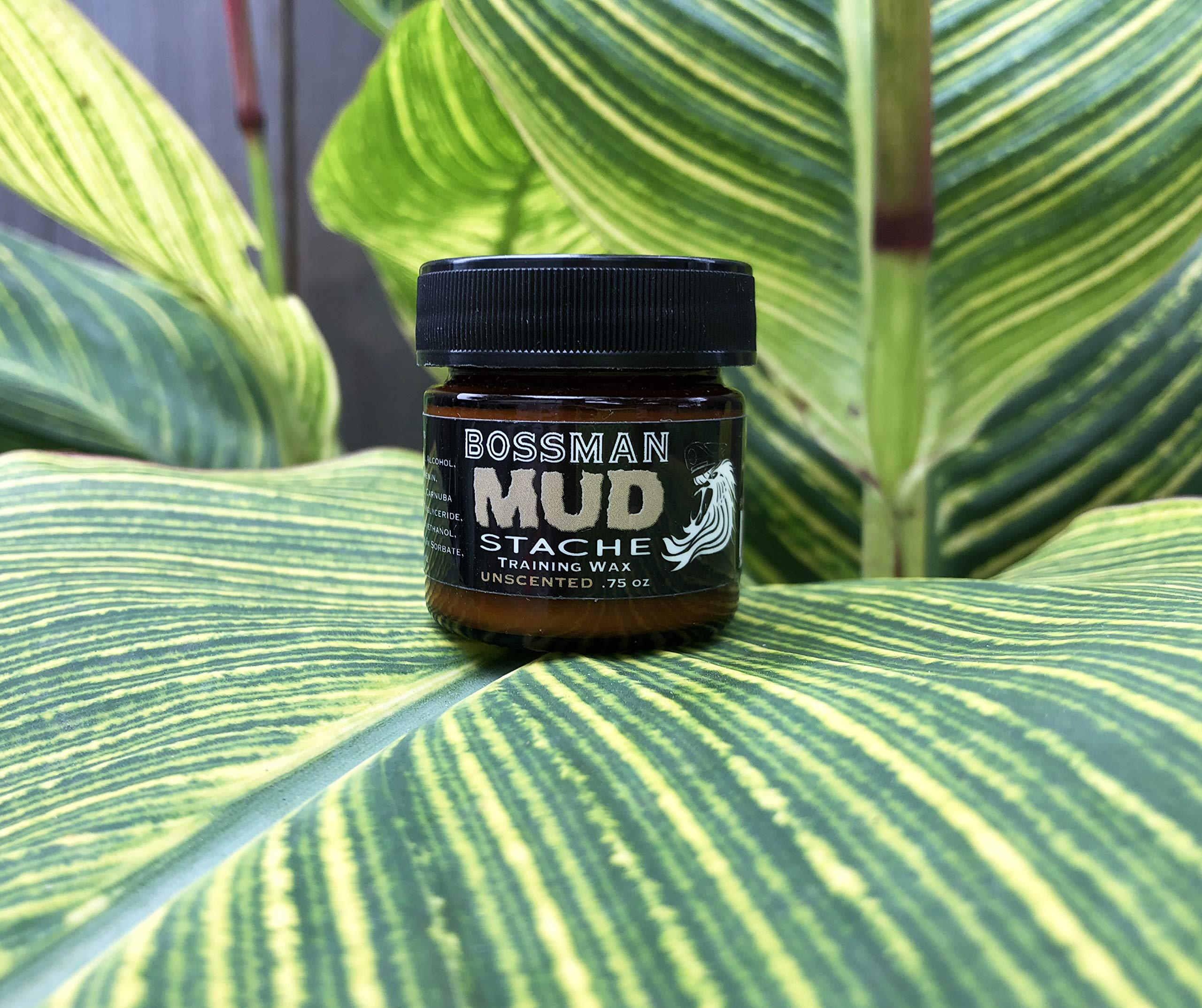 Bossman MUDstache - Mustache Training Wax, Lasts 24hrs, Unscented, No Tint. Tame, Train and Style by Bossman (Image #6)