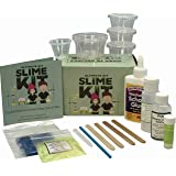 Ultimate DIY Slime Kit - Make Glow-In-The Dark, Color Changing, Clear and Glitter Slime - Over 10 Recipes & Experiments, Fun & Educational Gift Idea!
