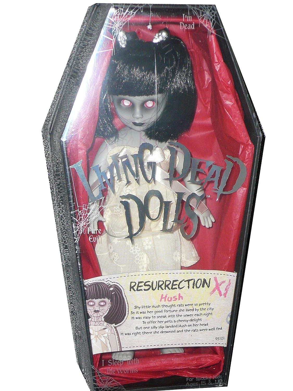 "MezcoリビングDead Dolls Resurrection XI ( 11 ) Exclusive – Hush 10 ""人形Ltd 275個   B07BNT9ZX7"