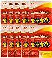 10er Set Packs de chaleur 8h Patch Auto-Chauffant chauffage douleur pads exclusivement par M&H-24