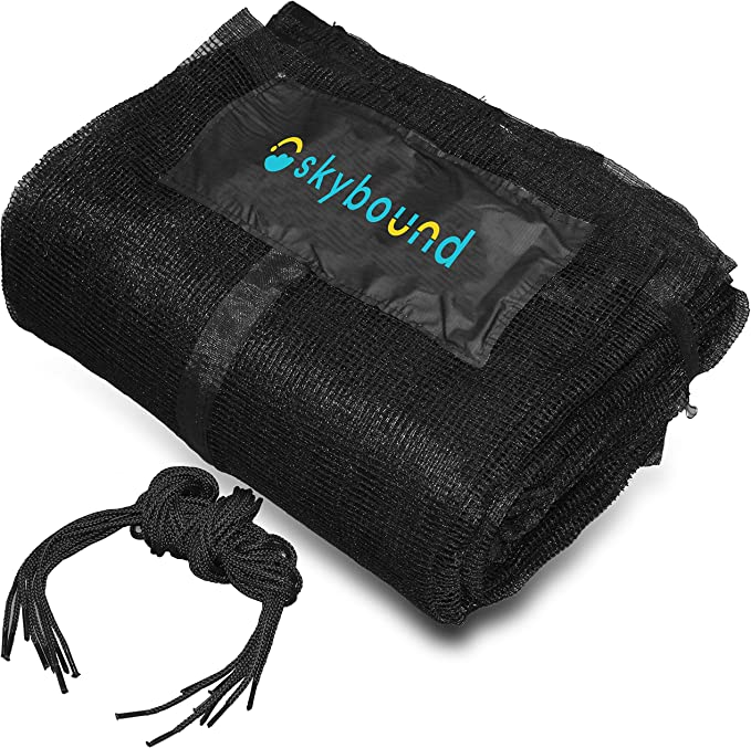 SkyBound 12ft Trampoline Net for Trampolines - The Best Overall