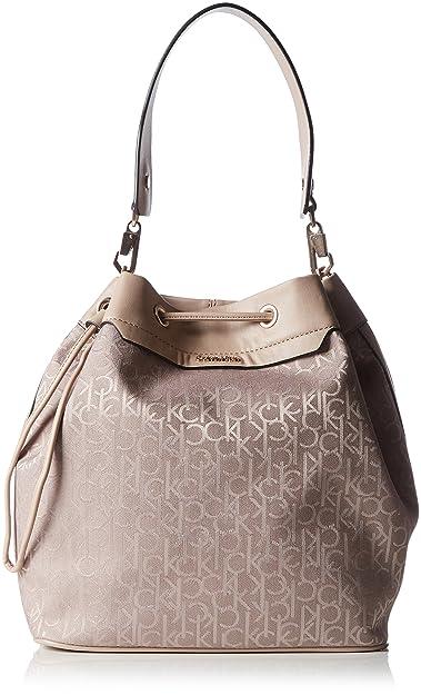 3693ca0200f5c Calvin Klein Jeans Damen Lara Bucket Bag Tasche