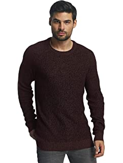 Jack /& Jones Mens Jorpannel Knit Crew Neck Jumper
