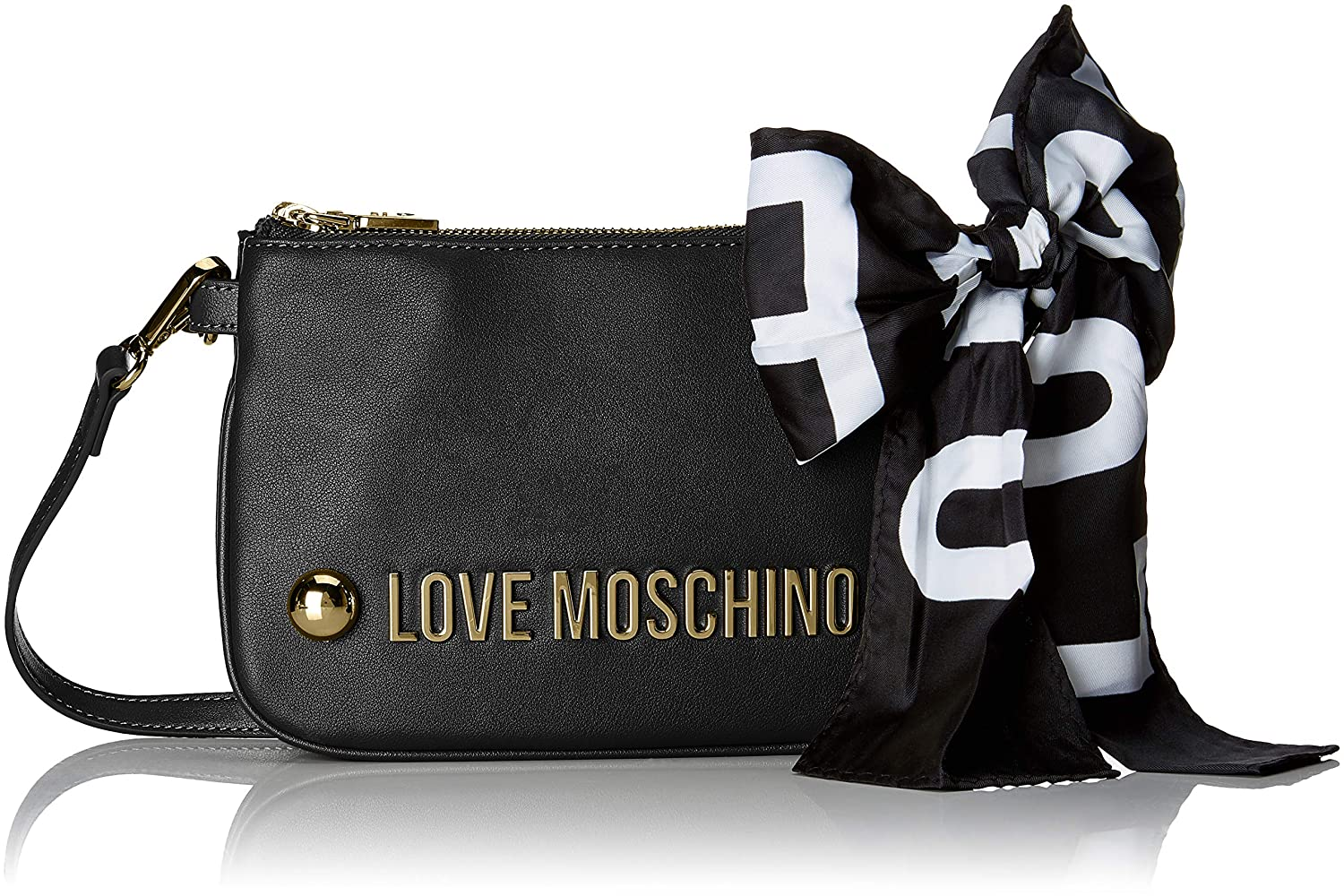 7bb567007ef44 Amazon.com: Love Moschino Borsa Soft Grain Pu, Women's Shoulder Bag ...