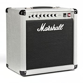 "Amplificador guitarra marshall combo vintage series 25w 1x12"" silver jubilee"