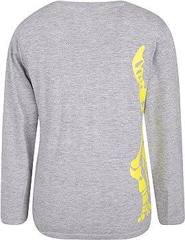 Transpirable Ligero Resistente Muy Suave Mountain Warehouse Camiseta para ni/ños Steve Backshall Dino: 100/% algod/ón Peinado