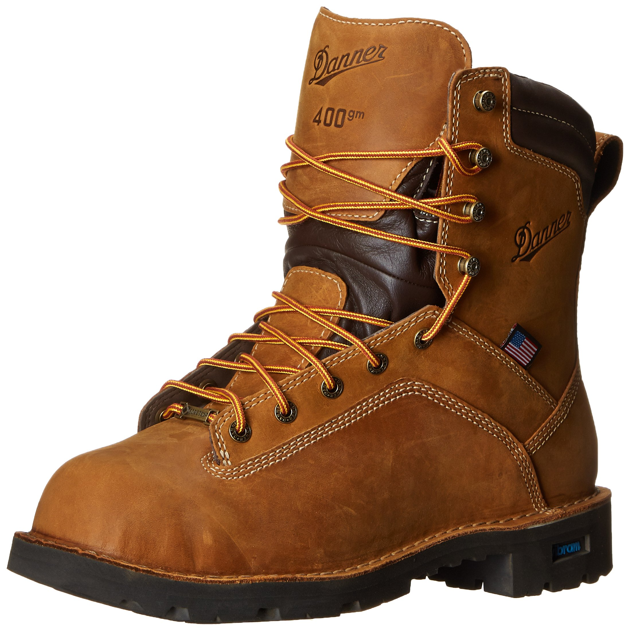 Danner Men's Quarry USA 8 Inch 400G NMT Work Boot,Distressed Brown,8.5 EE US by Danner