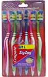 Colgate Toothbrushes - ZigZag (Medium), 6 Pieces Combo Pack