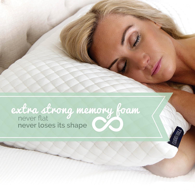 Britannica home fashions tencel sheets - Amazon Com Camden Hill Memory Foam Tencel Pillow Queen Home Kitchen
