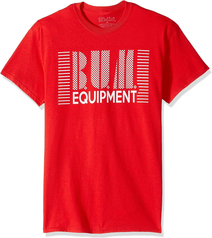 Bum Equipment Mens Wrap Text T-Shirt