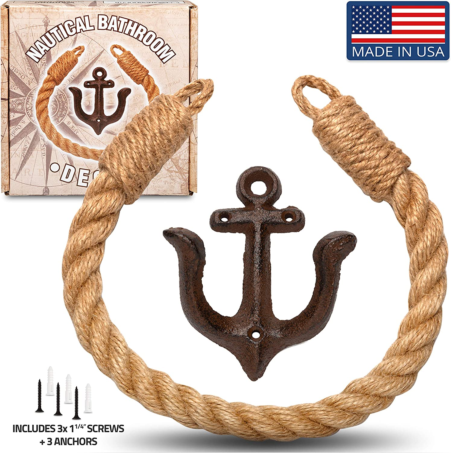 Home Gear Nautical Toilet Paper Holder