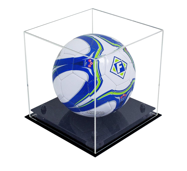 Vitrina acrílica lujosa para balón de fútbol, Transparente con ...