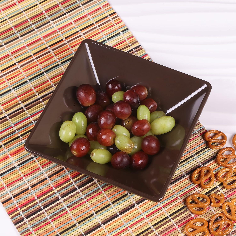 Elite Global Solutions Mail order DB834SQ-AUB Square Free Shipping Cheap Bargain Gift Bowl 3 4