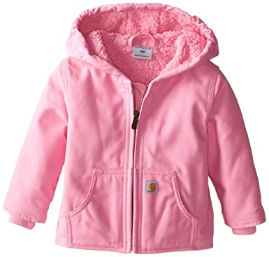 0cfb6f11 Amazon.com: Carhartt Girls' Redwood Jacket Sherpa Lined: Clothing