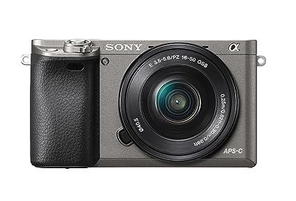 Sony Alpha 6000 - Cámara EVIL de 24.3 MP, color negro y gris ...