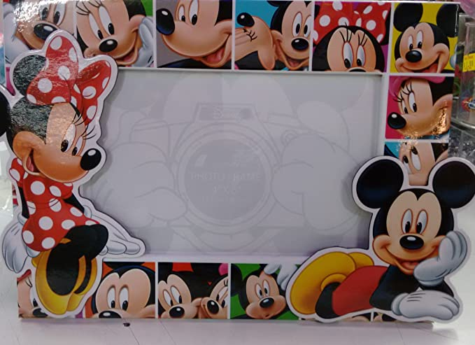 Disney Mickey Mouse y Minnie Mouse Marco de fotos: Amazon.es: Ropa y ...