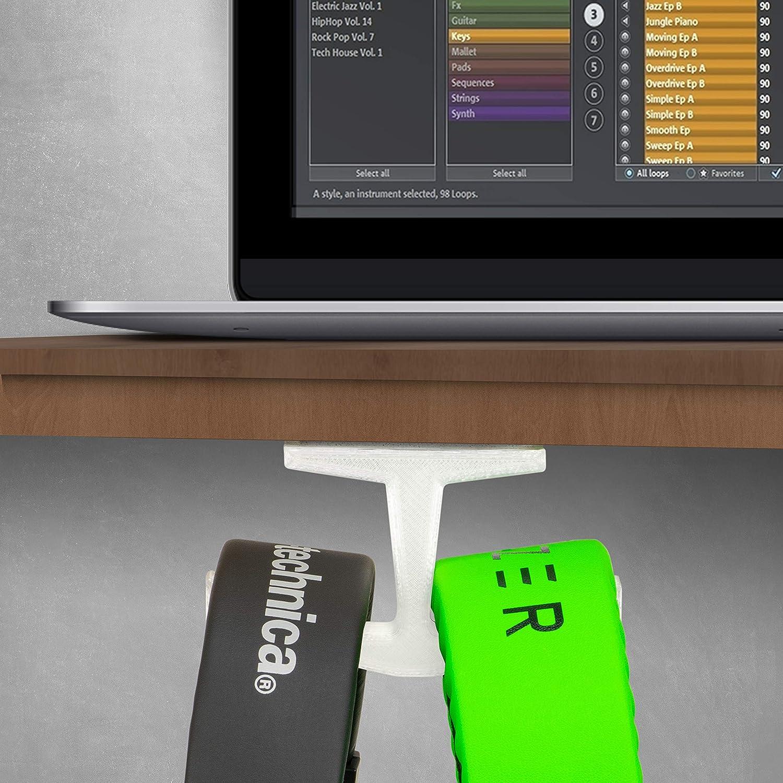 Brainwavz BigT Under Desk Headphone Stand Mount Holder Music Frosty for Gaming Mobile Headsets Hanger No Screws