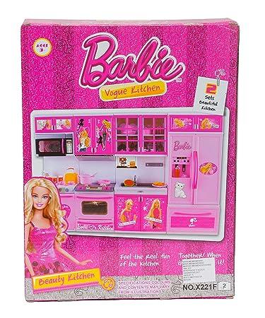 Buy Aaryan Enterprise Barbie Kitchen Set Online At Low Prices In India Amazon In