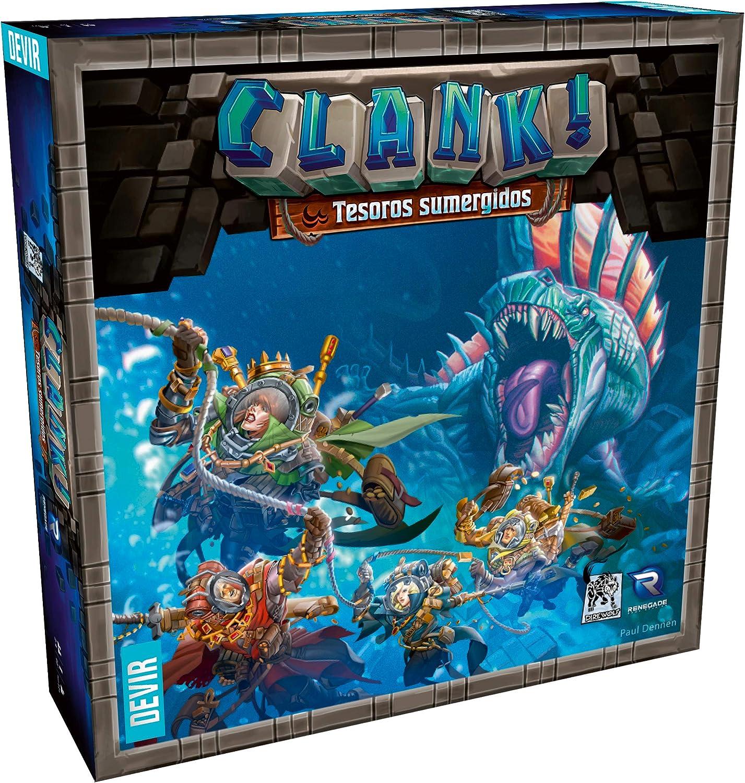 Clank! Tesoros Sumergidos (Devir BGCLANT): Amazon.es: Juguetes y juegos