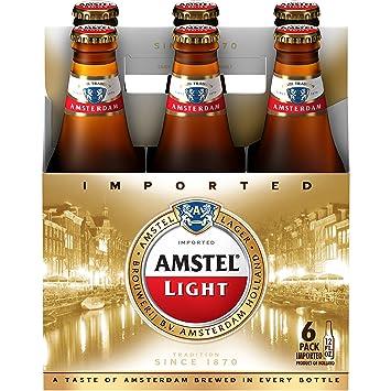 Amstel Light Lager Beer, 12 Fl Oz, 12 Pack