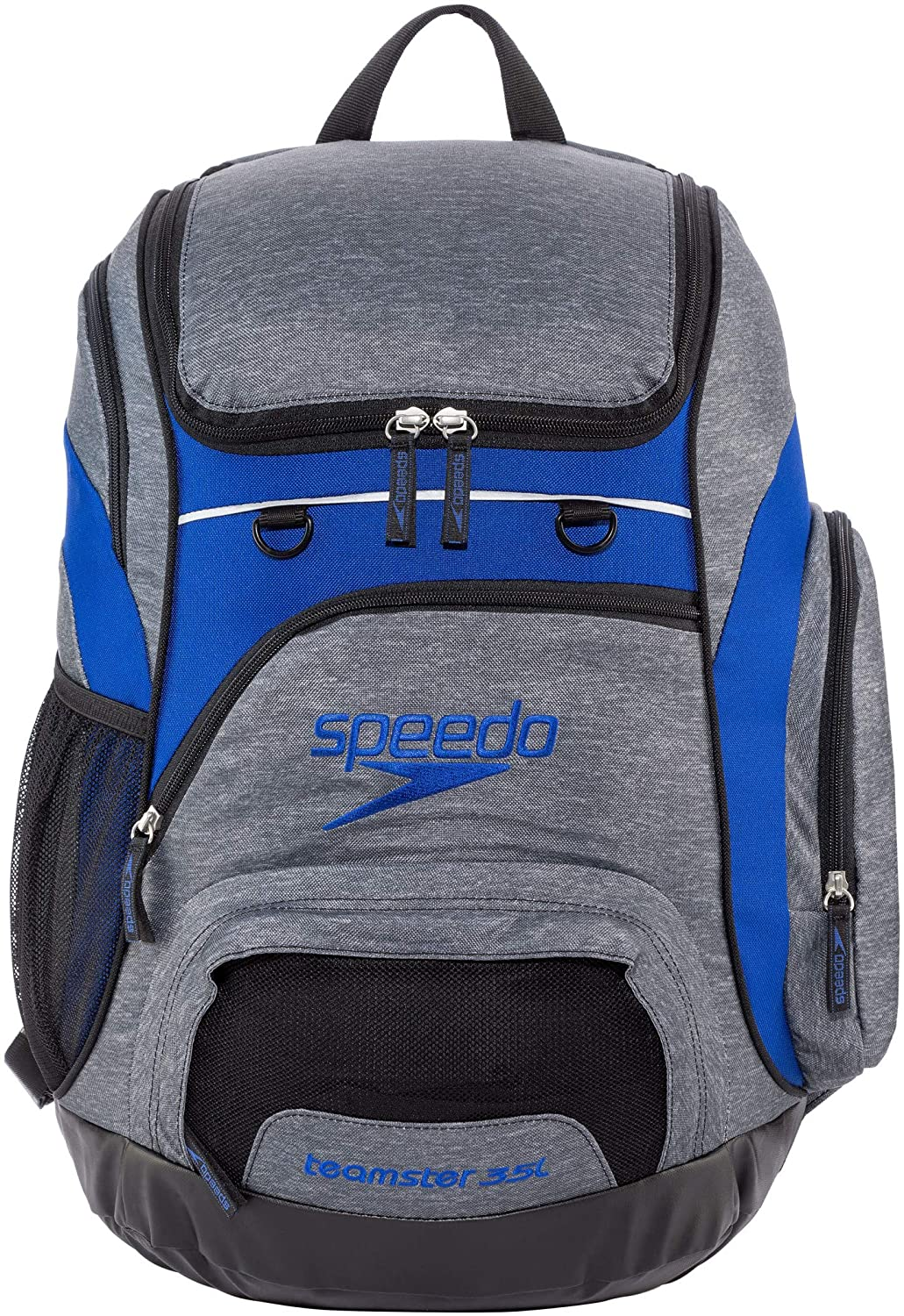 Heather Grey//Navy Speedo Unisexs Teamster Backpack One Size