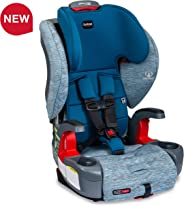 Britax USA Grow with You ClickTight Harness-2-Booster Car Seat - 2 Layer Impact Protection - 25 to 120 Pounds, Seaglass  [Ne