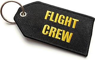 Flight Crew/Do Not Remove From Aicraft Luggage Tag | Medio | Nero/Giallo | aviamart®