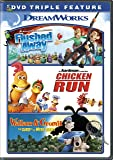 Flushed Away/Chicken Run/Wallace & Gromit Triple Feature