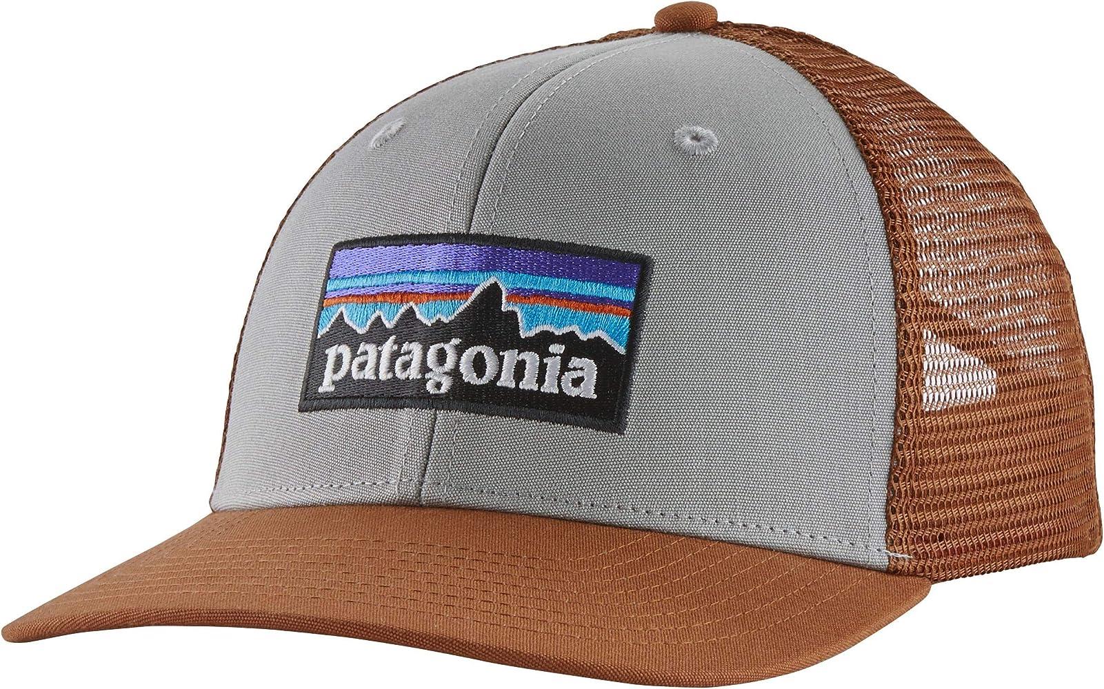 Patagonia P-6 Logo Trucker Hat Gorro, Unisex Adulto, Drifter Grey ...