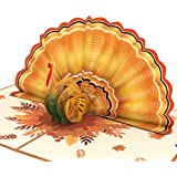 Lovepop Give Thanks Turkey Pop Up Card - 3D Cards, Thanksgiving Pop Up Cards, Turkey Pop Up Card, 3D Thanksgiving Cards…