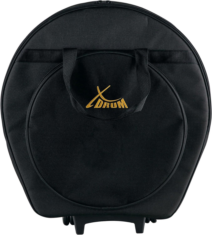XDrum 11741 - Bolsa para platos con ruedas