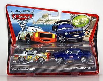 Cars 2 - Pack de 2 Coches (Mattel V2834): Amazon.es: Juguetes y juegos
