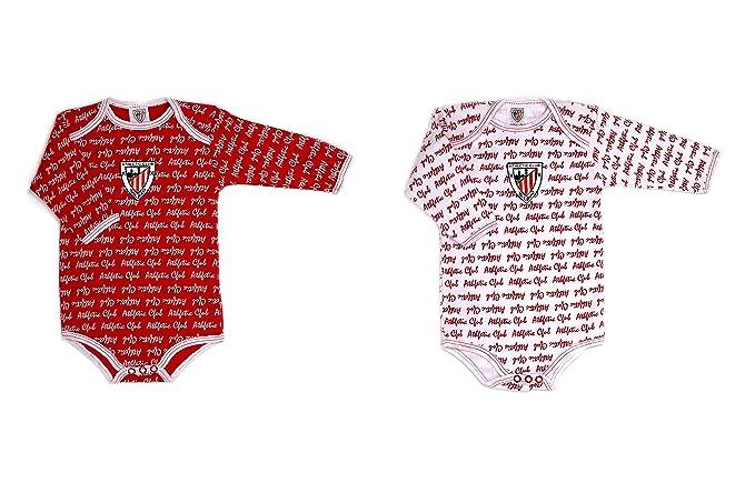 ATHLETIC CLUB BILBAO - Bodies, Color Rojo Y Blanco, Talla 3 ...