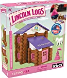 Lincoln Logs Country Meadow Cottage – 137 Pieces – Ages 3+ Preschool Education Toy