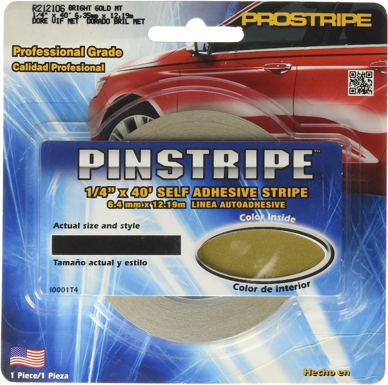 Trimbrite R212106 Prostripe 1//4X40B.Gold M